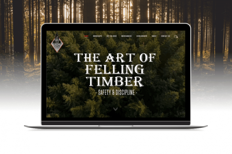 A Website Designed for Growth – The Art of Felling Timber