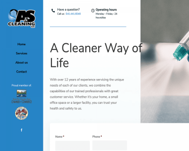 A&S Cleaning - Feature