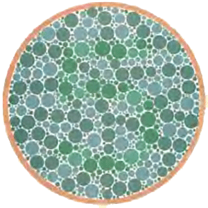 colorblindness test circle