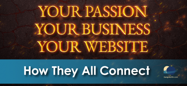 Your passion, your business, your website