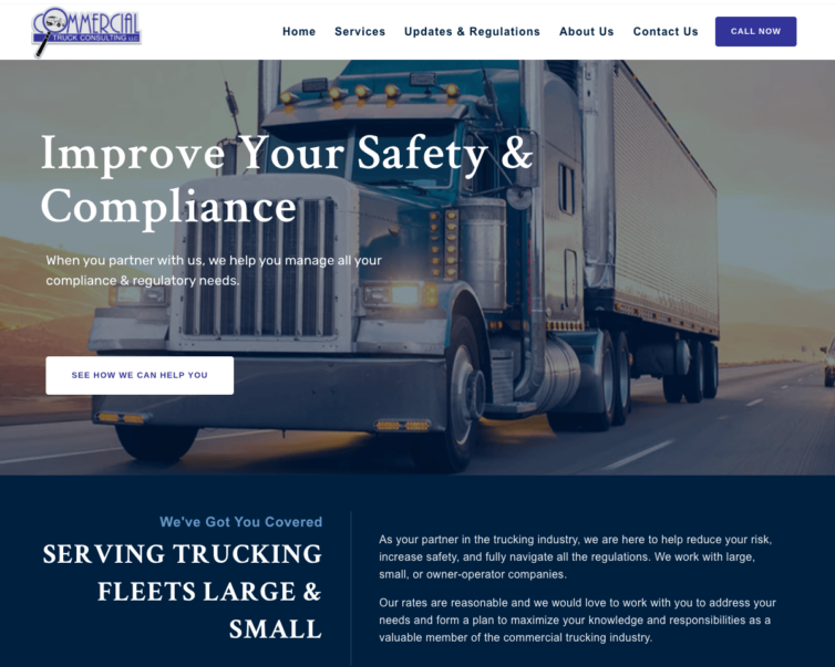Clarifying Services – Commercial Truck Consulting