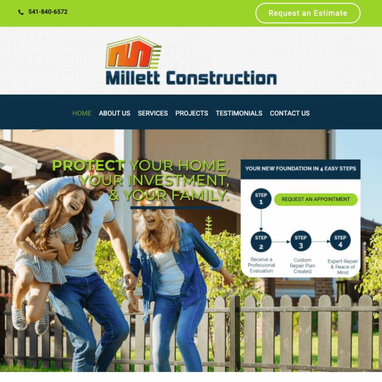 Modernizing Site – Millett Construction