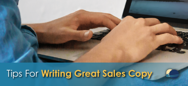 Tips for writing great sales copy