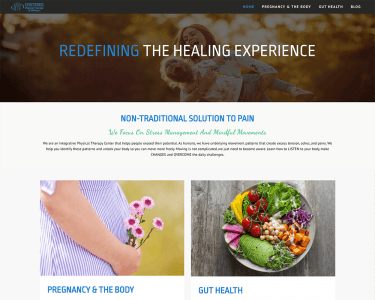Centered Physical Therapy & Wellness new website