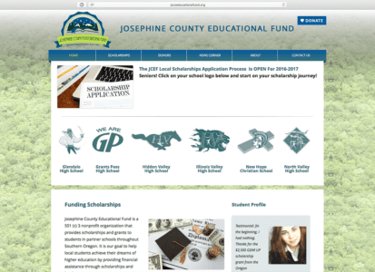 Josephine County Educational Fund Feature