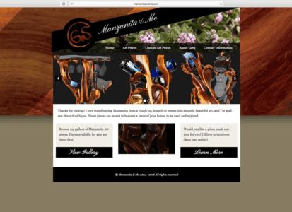 Manzanita & Me Feature / Home Page