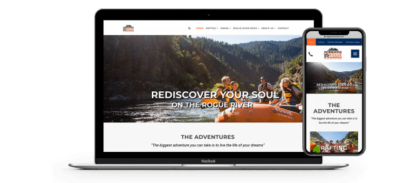 Morrisons Rogue River Raft homepage