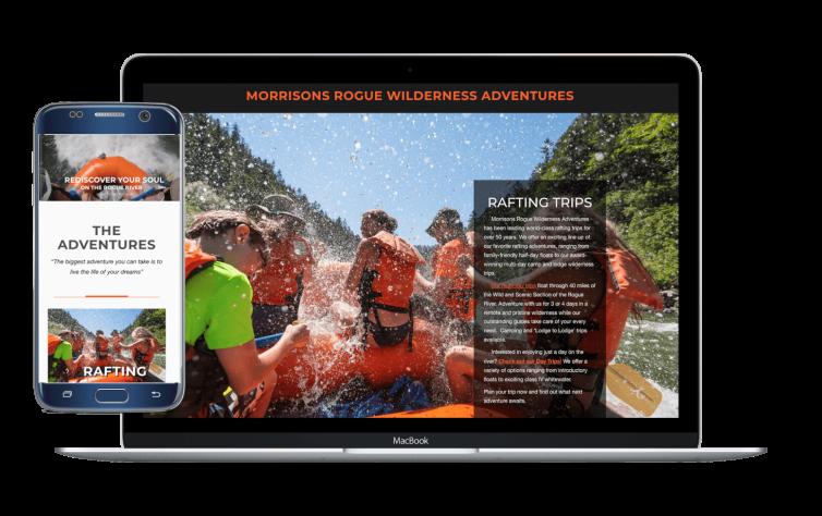 Managing Multiple Websites – Morrisons Rogue Wilderness Adventures and Lodge