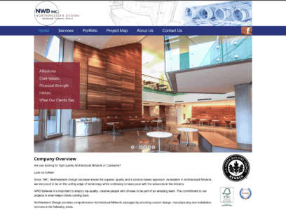 NW Design home page