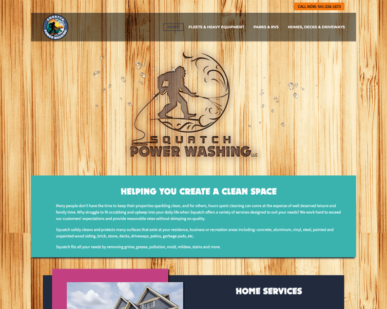 Building Brand Visibility – Squatch Power Wash