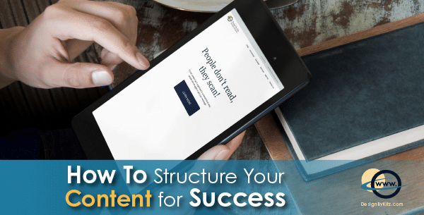 Website content structure