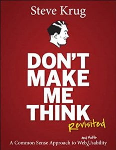 book - Don\'t Make Me Think