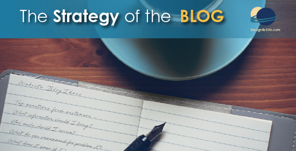Strategy of the Blog